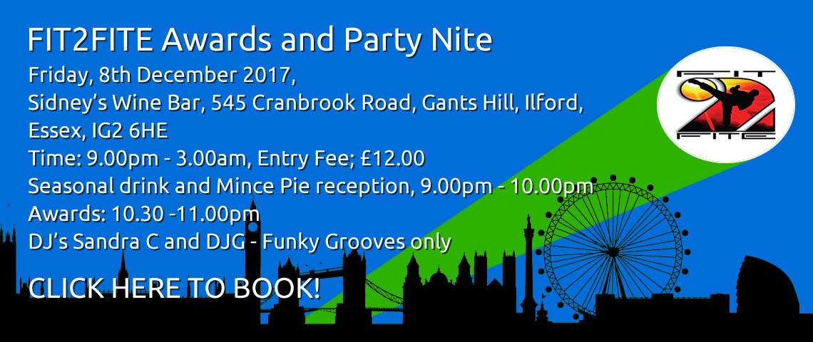 FIT2FITE Awards and Party Nite 2017