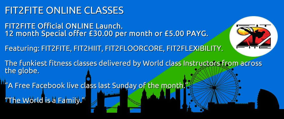 FIT2FITE ONLINE CLASSES
