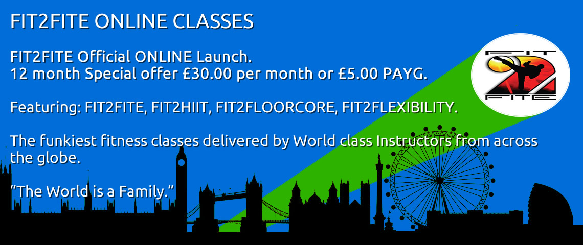 FIT2FITE ONLINE CLASSES