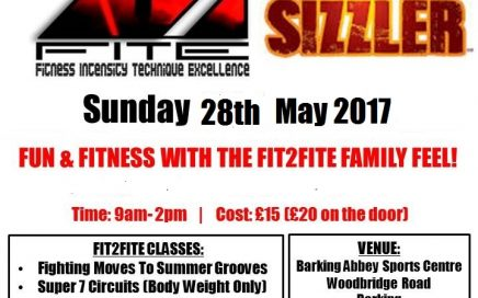 F2F Summer Sizzler 2017