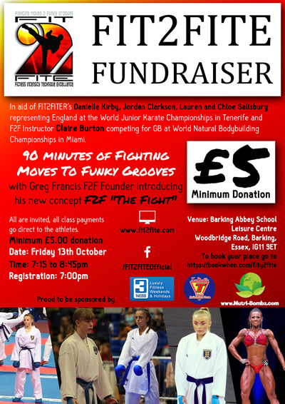 Fundraiser Flyer Oct 2017