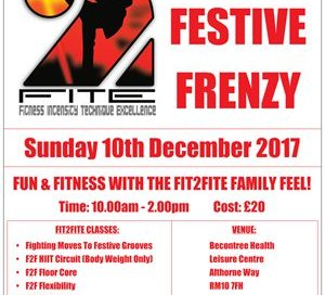 Fit2Fite Fitness Festive Frenzy 2017