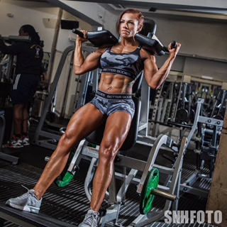 Claire Burton, World Natural Bodybuilding Champion 2017